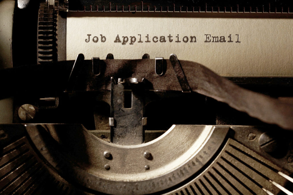 How To Write Job Application Email